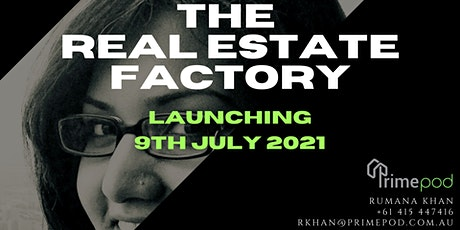 The Real Estate Factory - Launch tickets