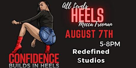 Confidence Builds In Heels Cincinnati (AUGUST 7th Class) tickets