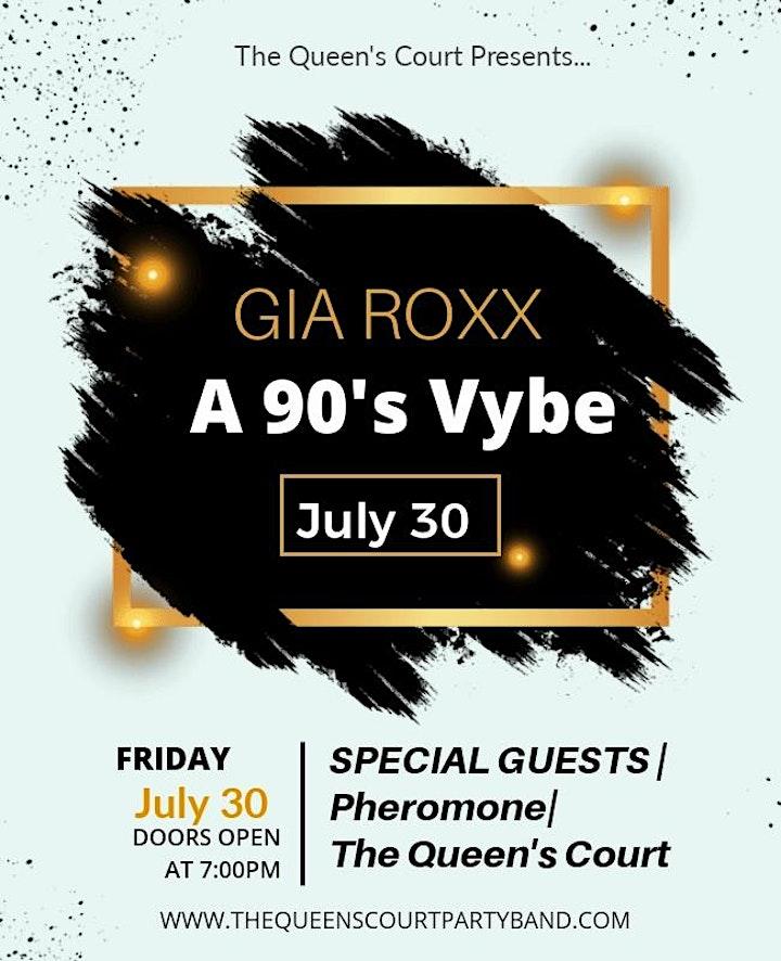 Gia Roxx 90s vibe show image