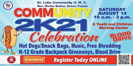 Community Celebration 2K21 tickets