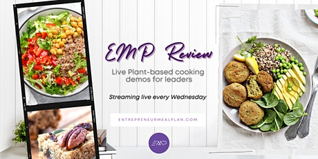 EMP Review: Live Plant- Based Cooking Demos for Leaders tickets
