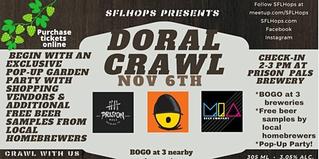 Doral Pop-Up and Brewery Crawl tickets