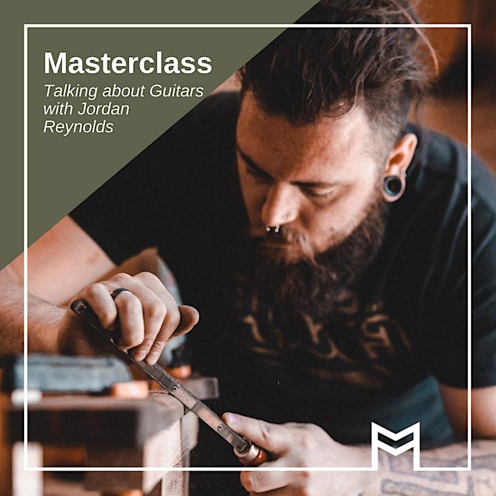 Masterclass: Talking about Guitars with Jordan Reynolds this SALA image