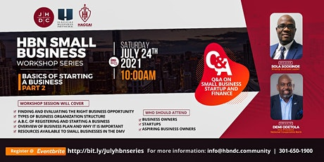 HBN Small Business Workshop Series tickets