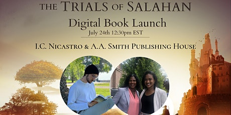 Digital Book Launch of The Trials of Salahan by I.C. Nicastro tickets