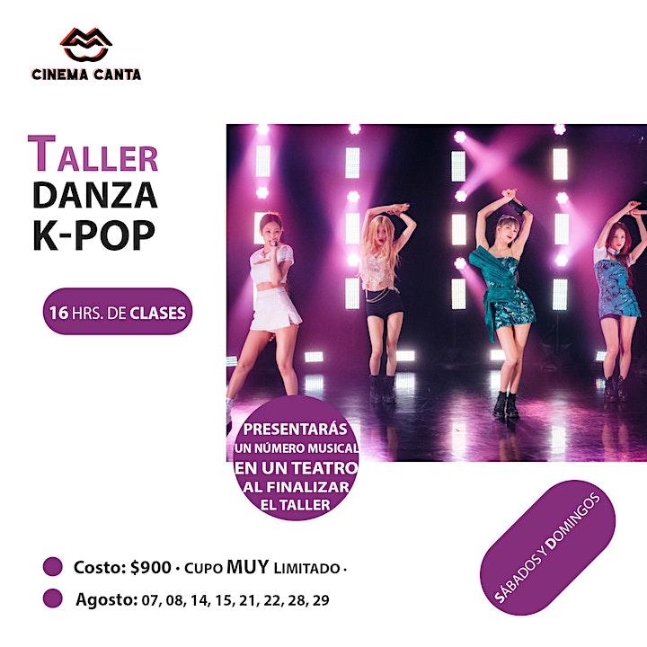 Imagen de Cinema Canta Presenta: Taller Danza K-Pop