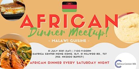 African Dinner Meetup (Malawi) tickets
