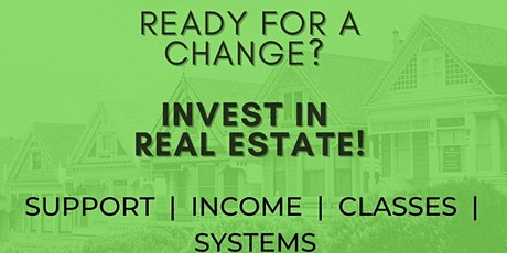 Ready for a Change? Blue Print Plan to Investing In Real Estate tickets