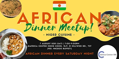 African Dinner Meetup (Niger) tickets