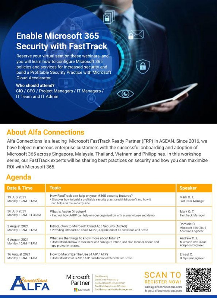 Enable Microsoft 365 Security with FastTrack image