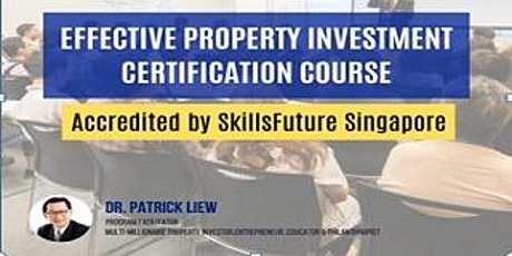 FREE Zoom: Effective Property Investment Certificate Course For Homeowners tickets