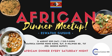 African Dinner Meetup (Eswatini) tickets