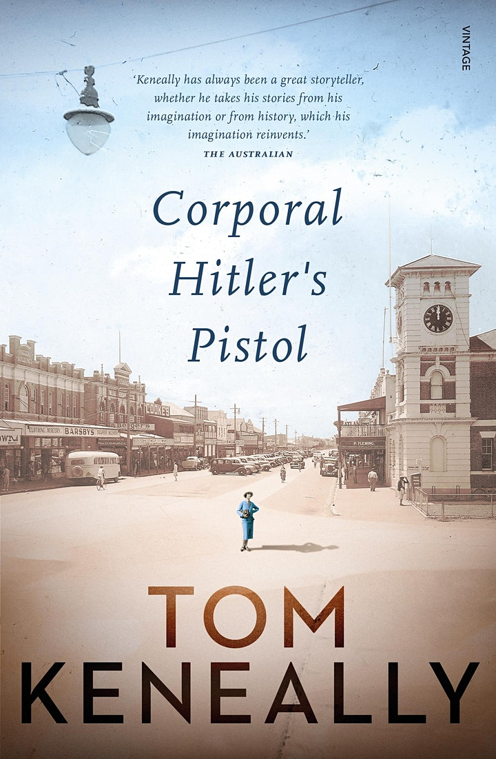 Author Talk - Tom Keneally via ZOOM image
