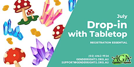 July Tabletop @ Drop-In with AGA tickets