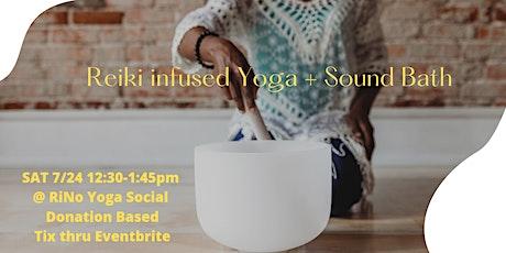 Reiki Infused Yoga+ Sound Bath w/ Courtney tickets