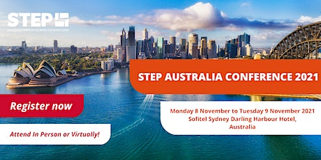 STEP Australia 2021 Conference tickets