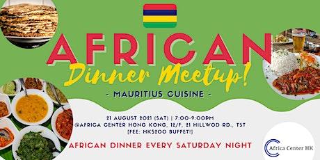 African Dinner Meetup (Mauritius) tickets