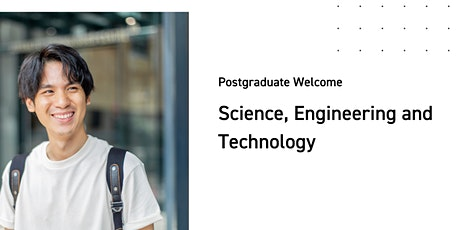 Science, Engineering and Technology Postgraduate Welcome tickets
