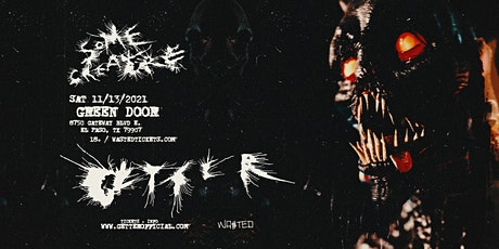 El Paso: Getter - Some Creature Tour [18 & Over] tickets
