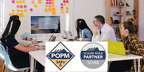 SAFe® Product Owner/Manager Aug 04/05- EST (POPM® 5.1  Certification) tickets