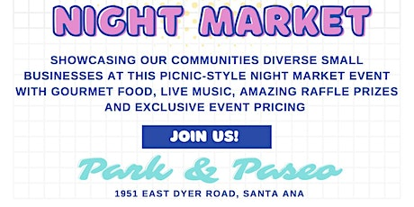 The Picnic Pop-Up Night-Market (Local Small Business & ASL Support) tickets