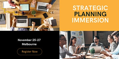 Strategic Planning Immersion for 2022 with Clive Enever & Linda Reed-Enever