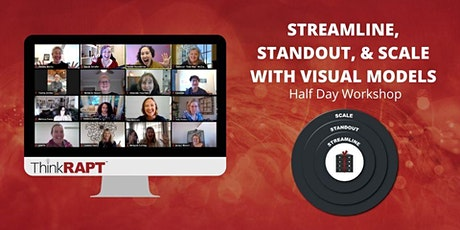 Streamline, Standout, & Scale With Visual Models Workshop tickets