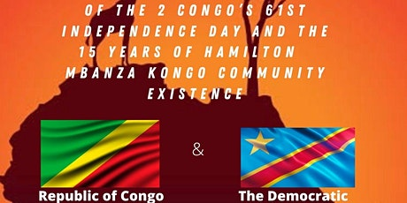Congolese 61st independence day tickets