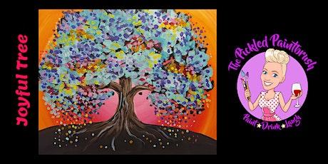 Painting Class - JOYFUL TREE - August 22, 2021 tickets