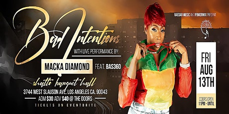 Macka Diamond LIVE ON STAGE in Los Angeles tickets