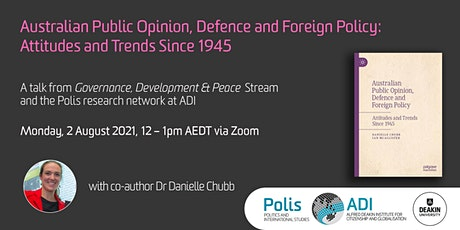 Australian Public Opinion, Defence and Foreign Policy tickets