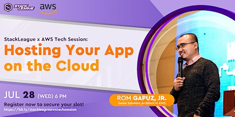 StackLeague x AWS Tech Session: Hosting Your App on the Cloud tickets