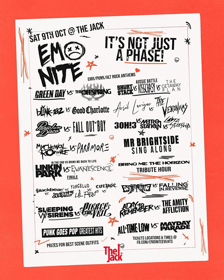 EMO NITE CAIRNS - NOW ON SALE image