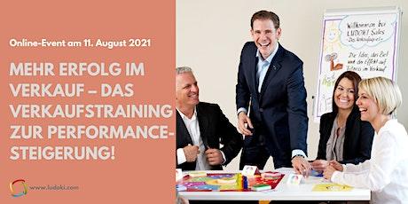 Mehr Erfolg im Verkauf – Das Verkaufstraining zur Performancesteigerung! Tickets