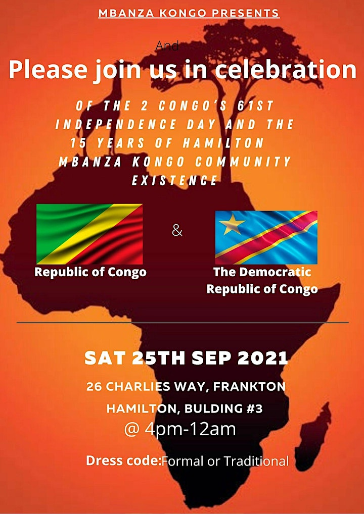 Congolese 61st independence day image