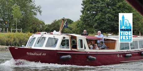 """River Thames Cruise Aboard the """"Windrush"""" - Thames Tidefest tickets"""