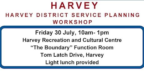 Harvey Service Planning District Workshop tickets