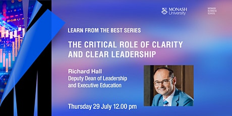 The critical role of clarity and clear leadership tickets