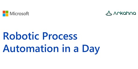 Robotic Process Automation - In a Day tickets
