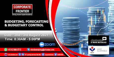 Budgeting, Forecasting & Budgetary Control tickets
