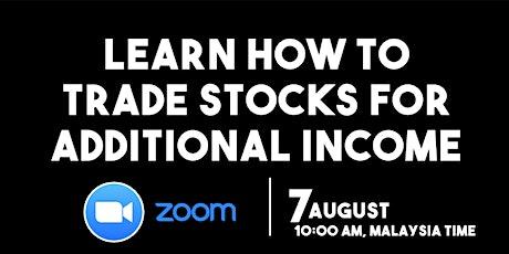 Insightful 7-Hour Stock Trading Workshop via Zoom tickets