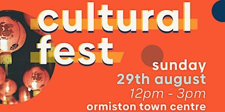 Cultural Festival tickets