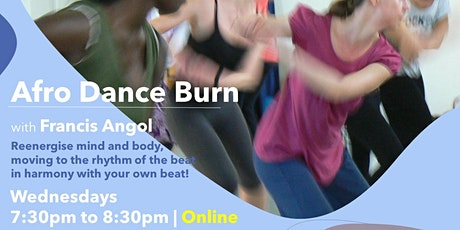 Afro Dance Burn -July / August 2021 Classes tickets
