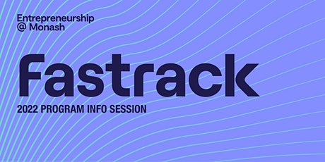 Fastrack 2022 information session tickets
