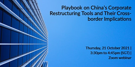 China's Corporate Restructuring Tools and Their Cross-border Implications tickets