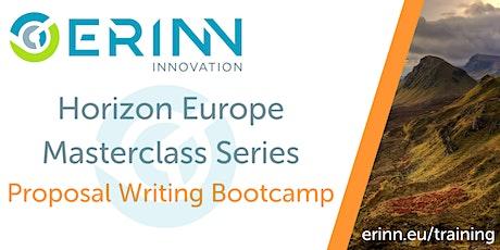 Horizon Europe Masterclass: Proposal Writing Bootcamp tickets