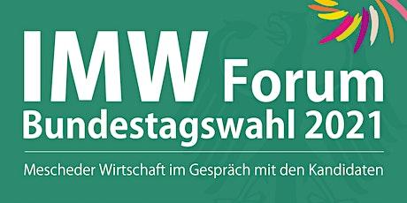 IMW-Forum zur Bundestagswahl Tickets