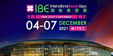 IBE International Beauty Expo 2021 tickets