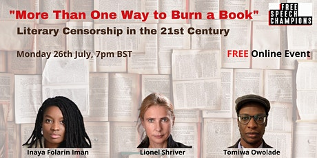 'More Than One Way to Burn a Book' tickets