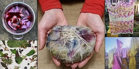 Nature's Palette: Eco Printing - Bundle Dye Silk Scarf with Deborah Manson tickets